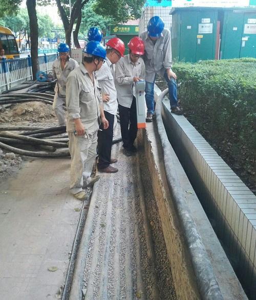 地下管线探测现场培训