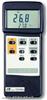 中国台湾路昌TM906A双通道温度表 接触式温度计
