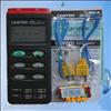 群特CENTER-303热电偶温度表 双通道温度计