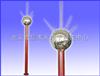 HJ03-LTP-06多针球形优化避雷针 球状型雷电接闪器 优化避雷针
