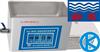 KQ-700DE超声波清洗器KQ700DE,昆山舒美牌,台式超声波清洗器