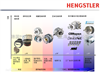 HENGSTLER增量型编码器原装优质 物美价廉